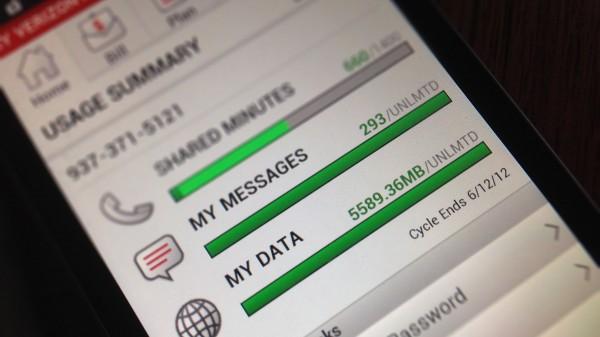 Unlimited mobile data on Verizon Wireless