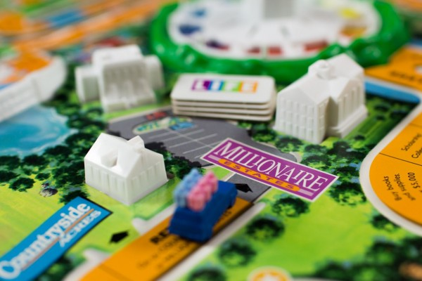 Rich retirement (The Game of Life)